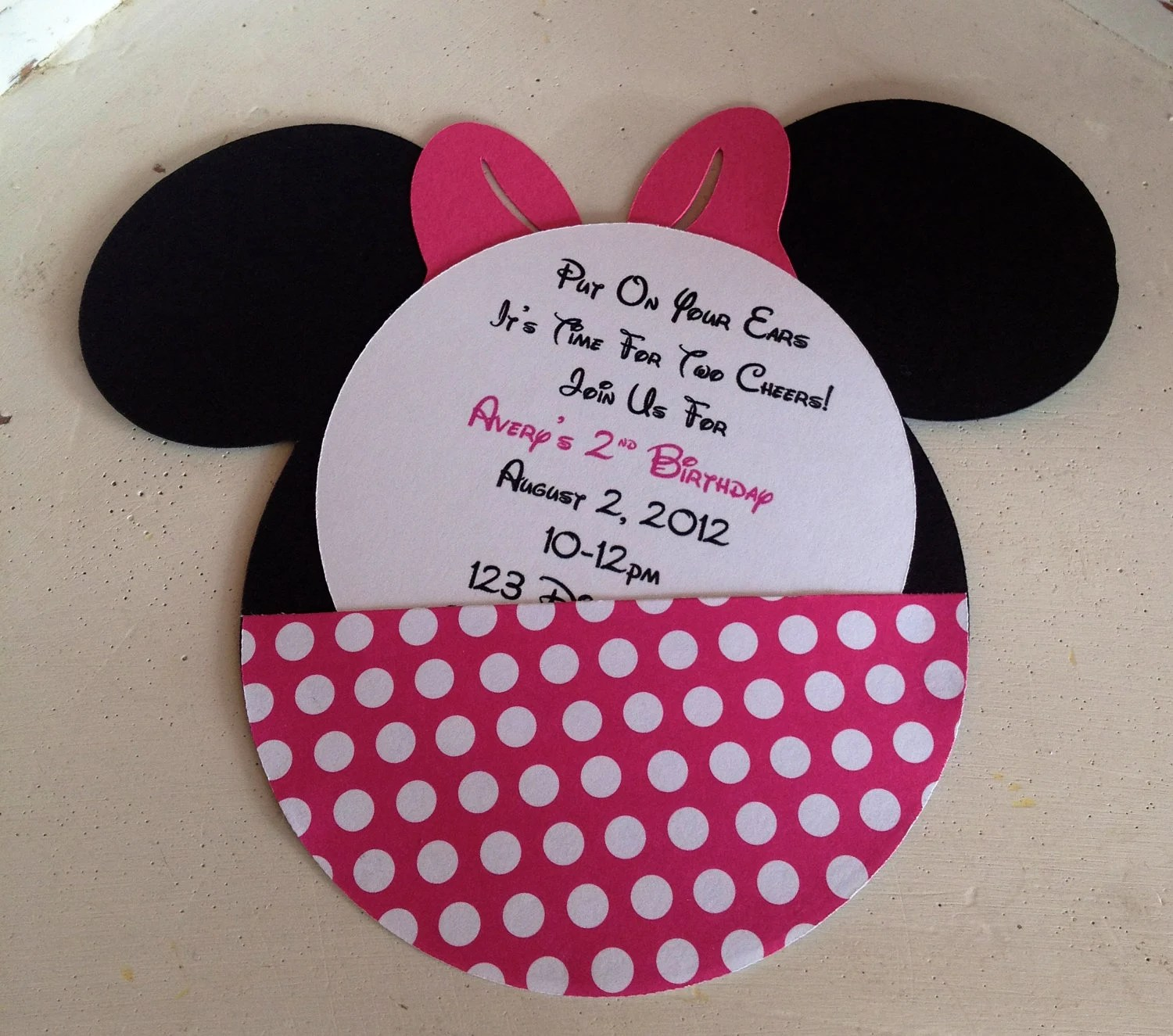 Como Hacer Baby De Para Invitaciones Shower Mouse Minnie