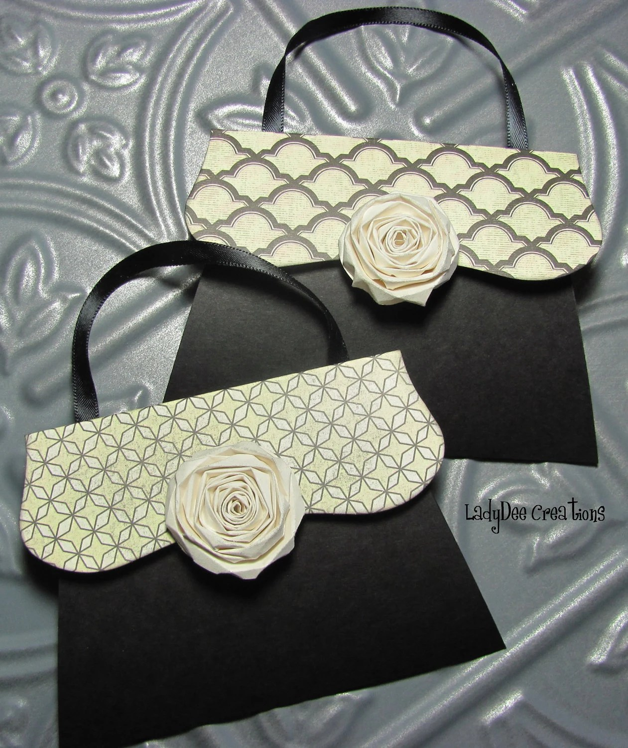 Shoe And Purse Gift Card Holders