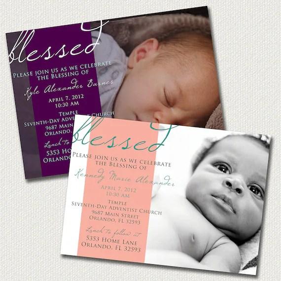 Sample Christening Invitation Card Baby Boy