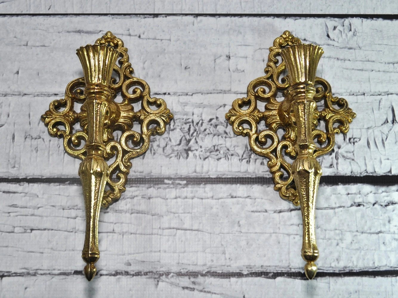 Gold Candle Wall Sconces - Kids Art Decorating Ideas on Vintage Wall Sconce Candle Holder Decorating Ideas id=37856