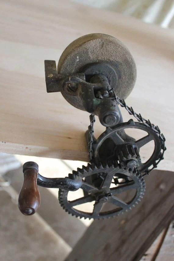 Vintage Hand Crank Grinder