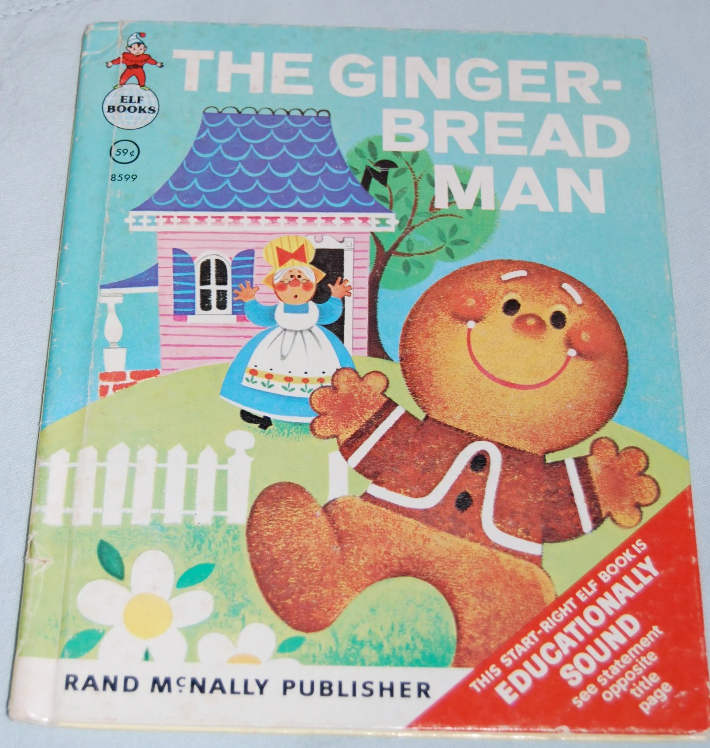 Items Similar To The Gingerbread Man Vintage Children