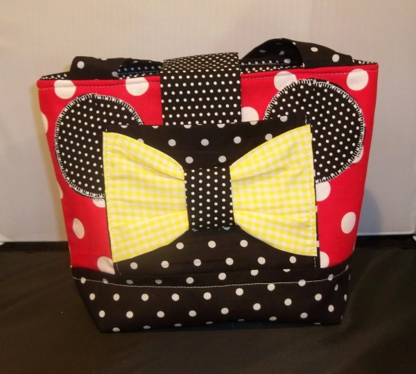 Girls Minnie Mouse Scripture Bag purse or Tote