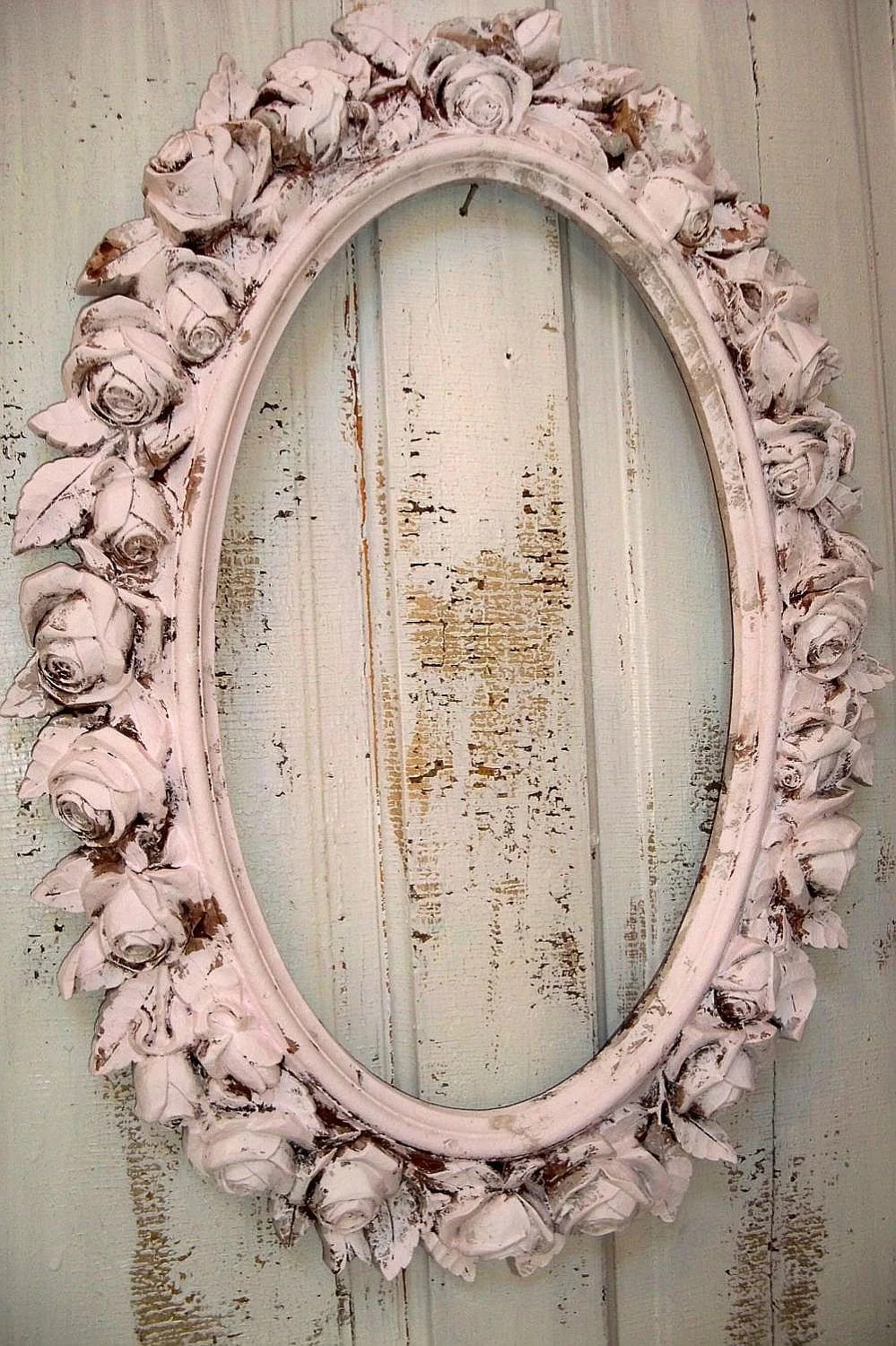 Reserved For B Till Sat 12 Large Picture Frame Pink Ornate