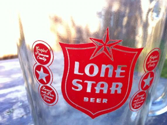 Beer Lone Crate Vintage Star