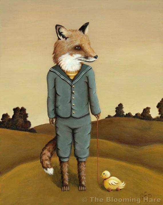 Fergus Fox print 8x10