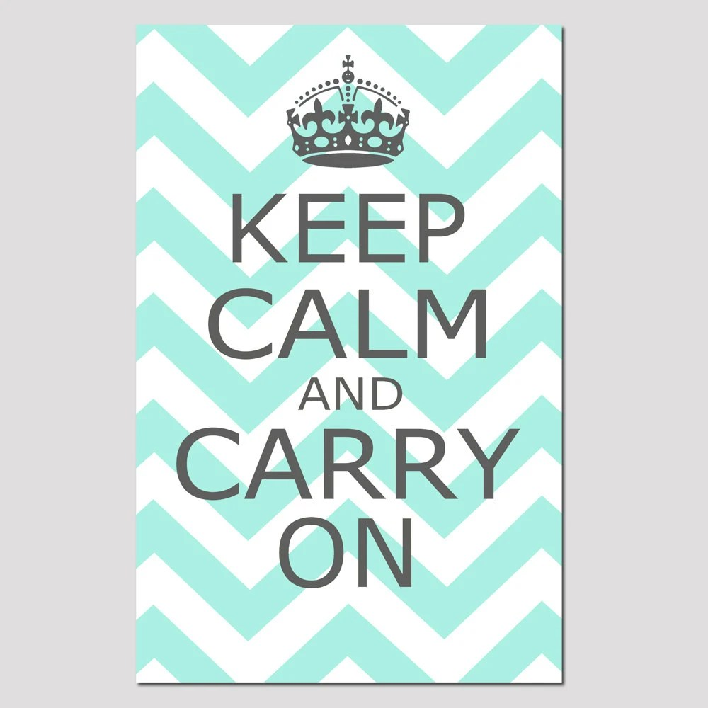 Keep Calm And Let Me Be One