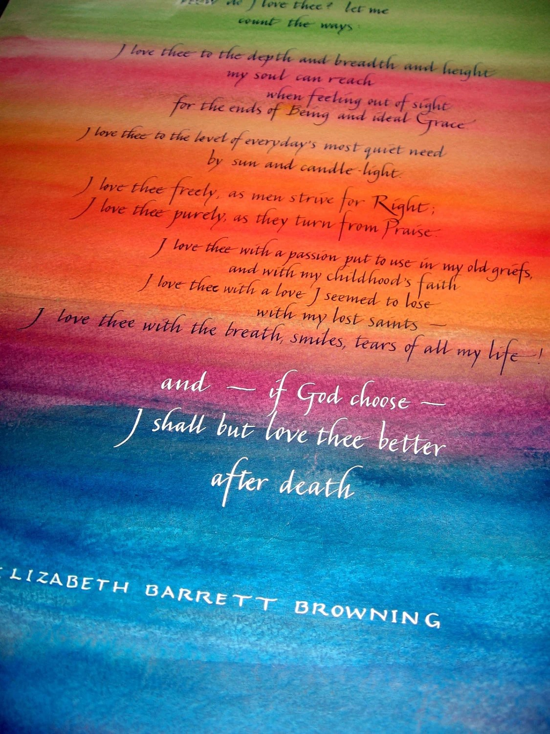 Elizabeth Barrett Browning Love Quotes