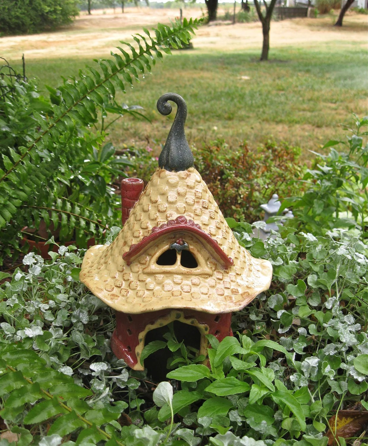 Magical Fairy Toad House For The Garden
