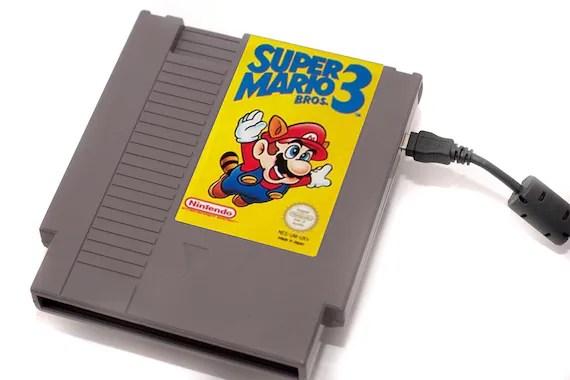 NES Hard Drive - Super Mario 3 - 1 .5 TB USB 3.0