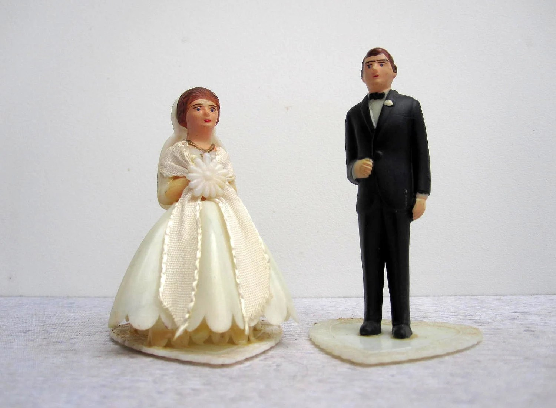 Cake Wedding Groom Toppers Short
