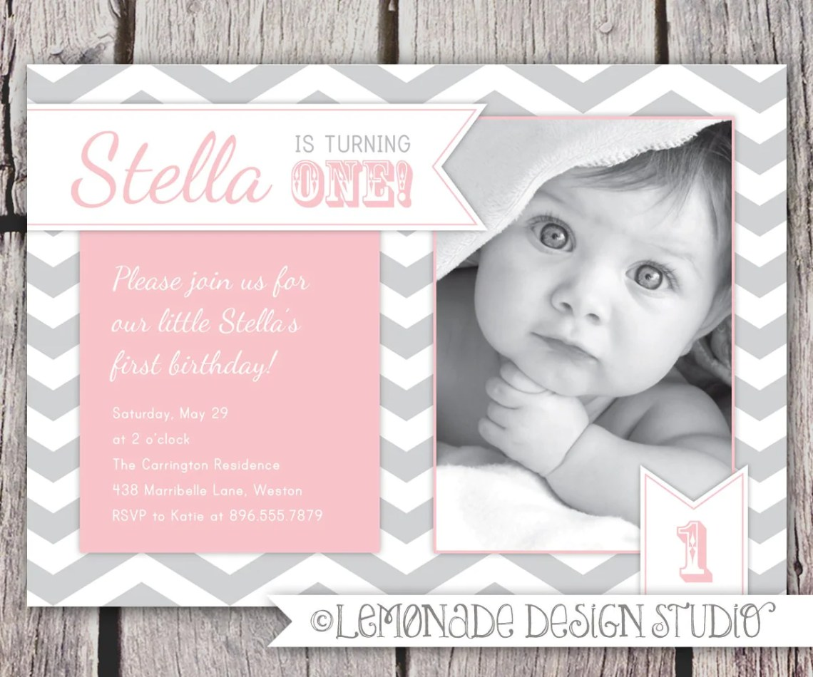 Background First Birthday Invitations Etsy St Party Quotes For Quotesgram