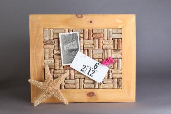 Framed Cork Memo Board Bulletin Board Wedding By Doubleprints