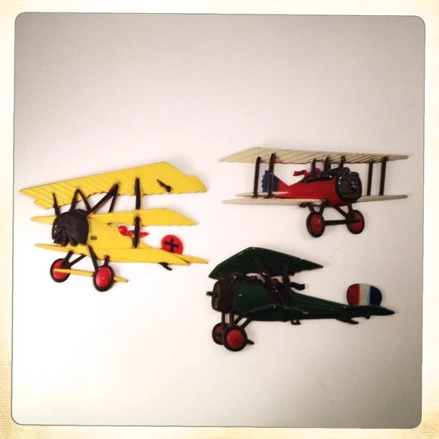 Vintage Airplane Nursery Decor