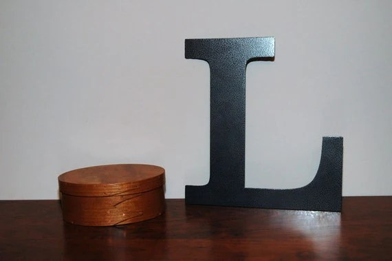 Items Similar To 12 Inch Steel Letters And Numbers