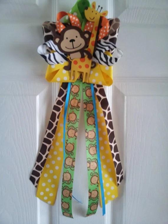 Safari Baby Shower Decoration Ideas