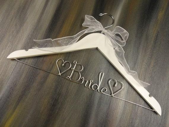 Bride Hanger Wire Hangers Wedding Dress Hangers Bridal