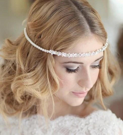 Braut Kopfschmuck Hochzeit Braut Stirn Band Stirnriemen