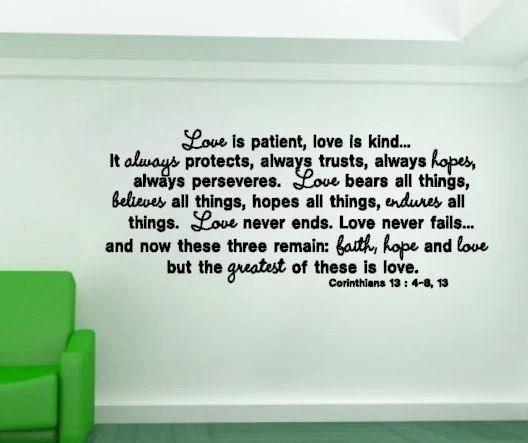 Love Patient Wall Art