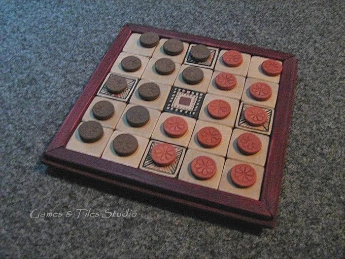 Seega Ancient Egyptian Board Game
