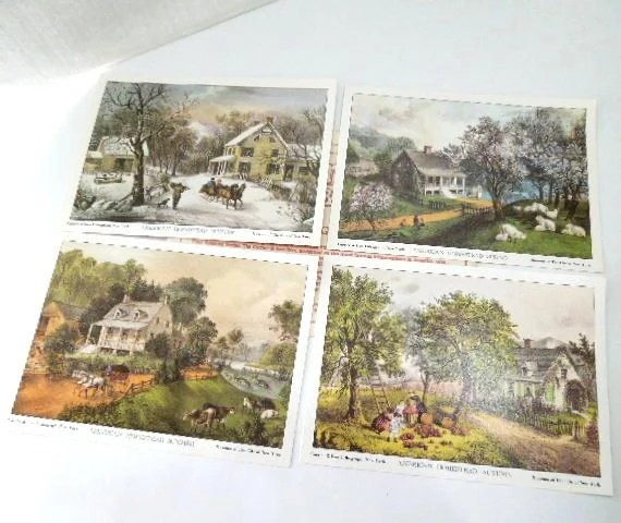 Currier And Ives Autumn