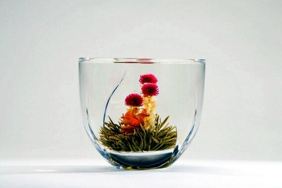 Green Loose Tea - Blooming Loose Leaf Tea 6 pcs. Premium Level