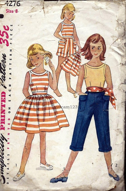 Pillowcase Dress Pattern Simplicity
