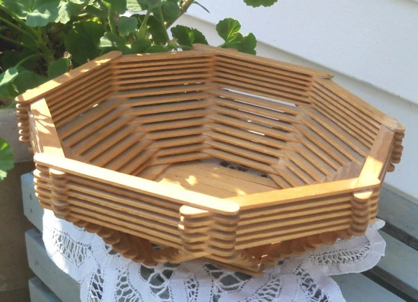 Reserved for Michelle Popsicle Stick Craft Bowl