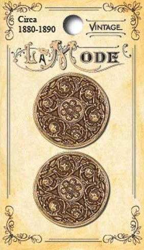 Filigree Sewing Buttons