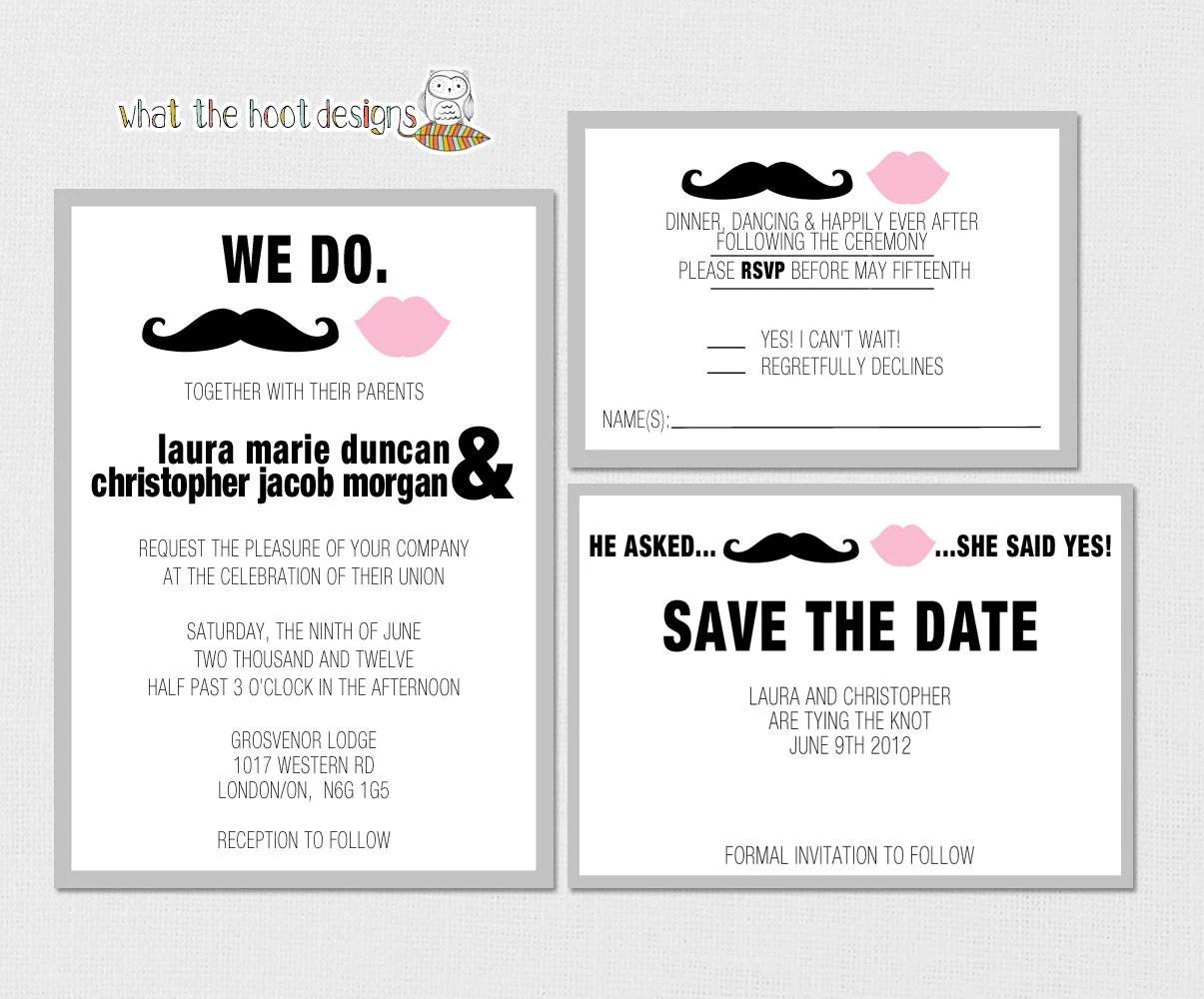 Response Wedding Invitation