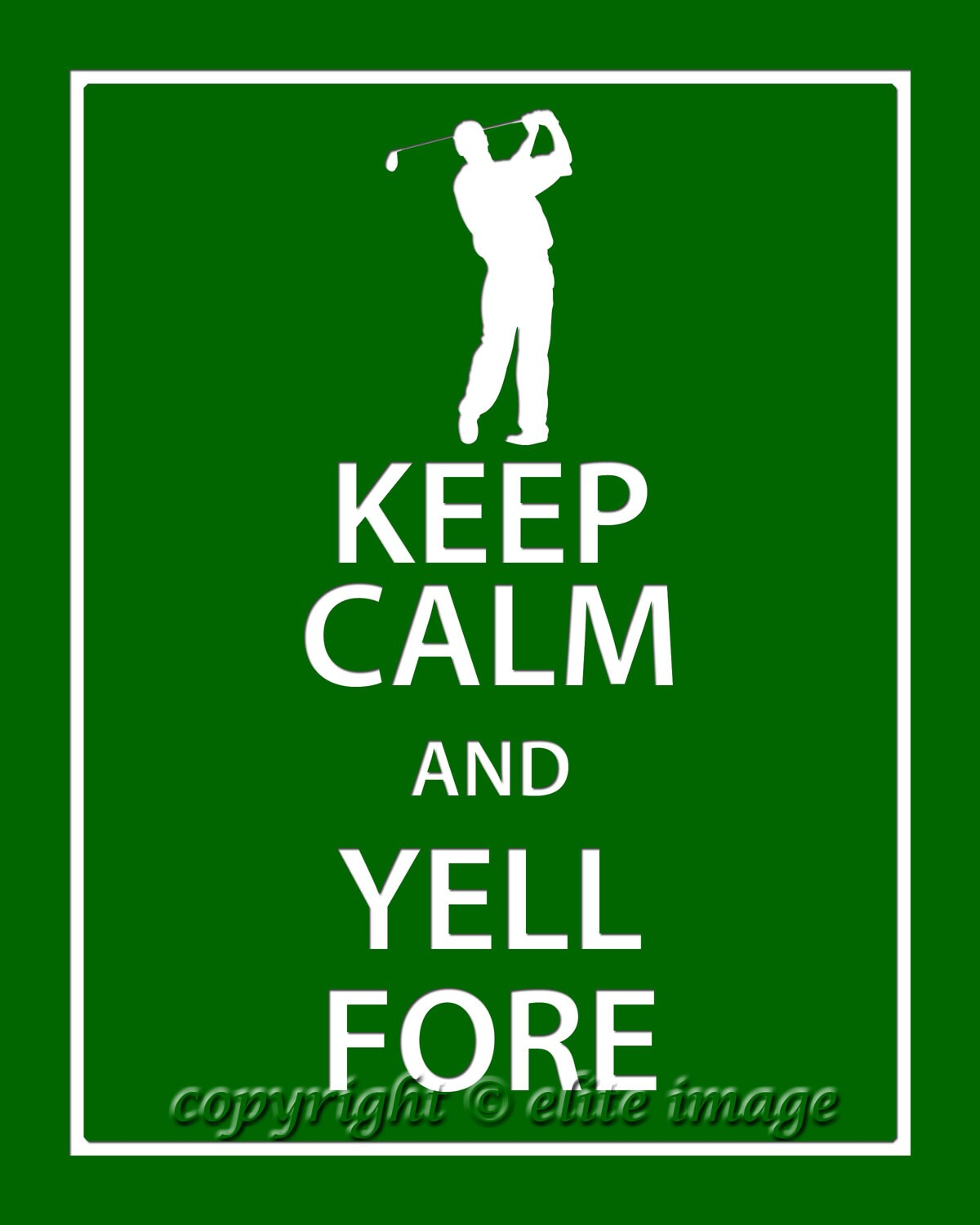 Keep Calm And Date Golfer