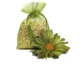 Green Clover & Aloe Corn Cob Cellulose Fiber Aroma Sachet - SerendipityCandle