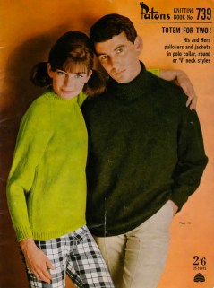 Vintage 1960s Knit Pattern Book - 'Patons'