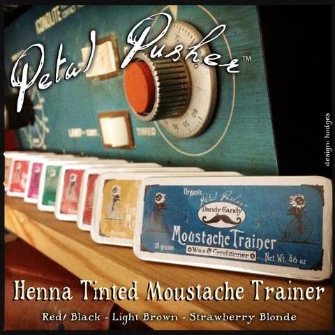 Organic Henna Moustache Wax Etsy