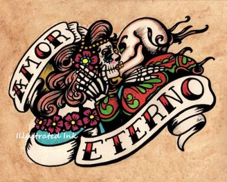 Amor Eterno - etsy