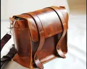 Satchel Leather bag Cross Body for Men and Women  - Sand dune full thickness leather bag - sizzlestrapz