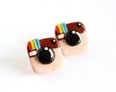 Instagram Earrings - ColorMeKawaii