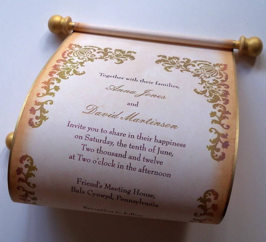 Country Wedding Invitation Wording Samples