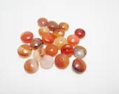 20 Simulated Jasper Rondelle Gemstone Loose Beads High Quality 4022 - WhispySnowAngel