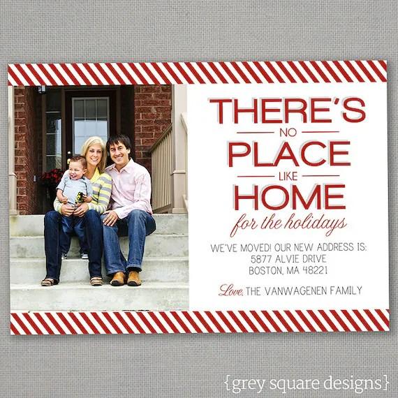 Items Similar To Christmas Card No Place Like Home