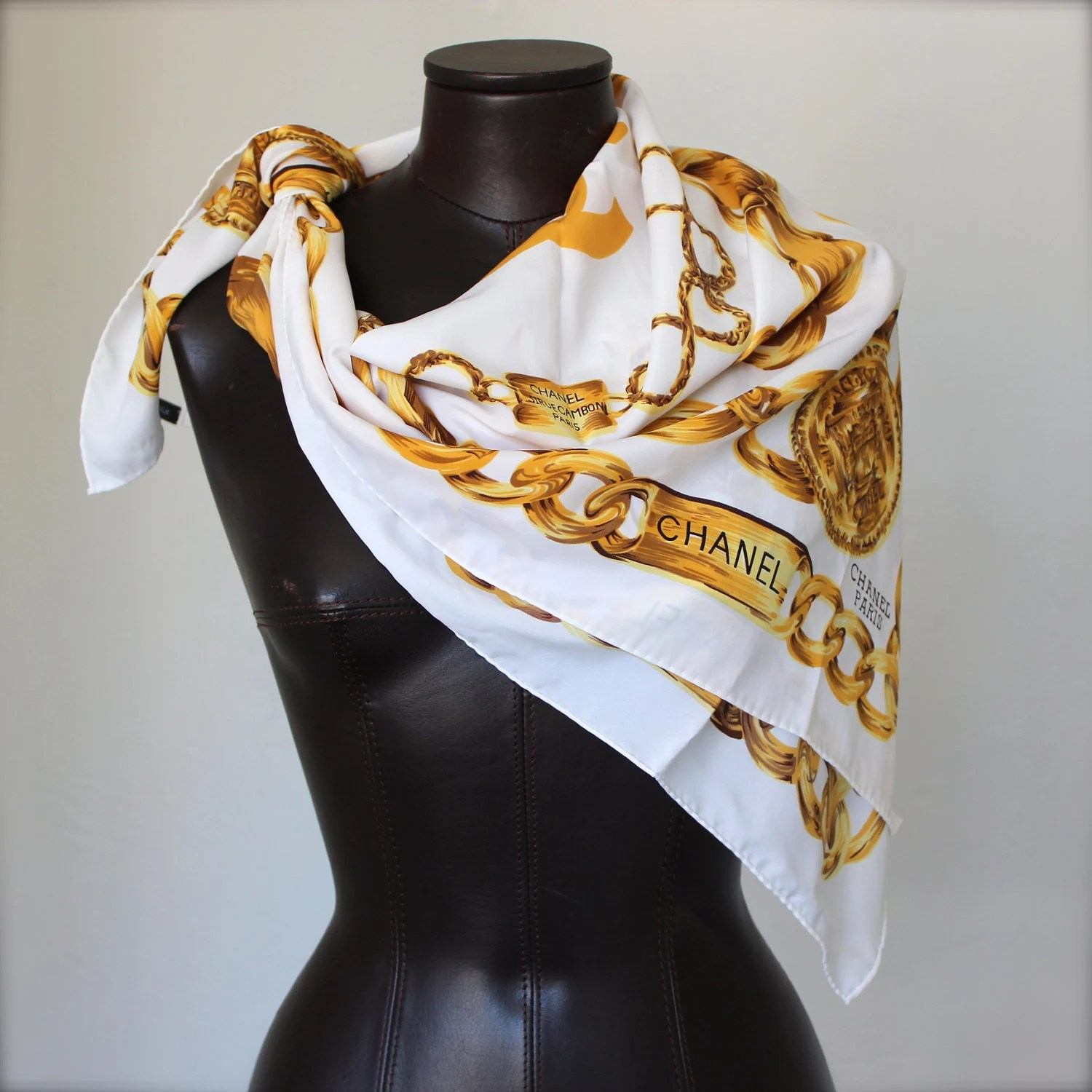 Scarves With Gold Stars