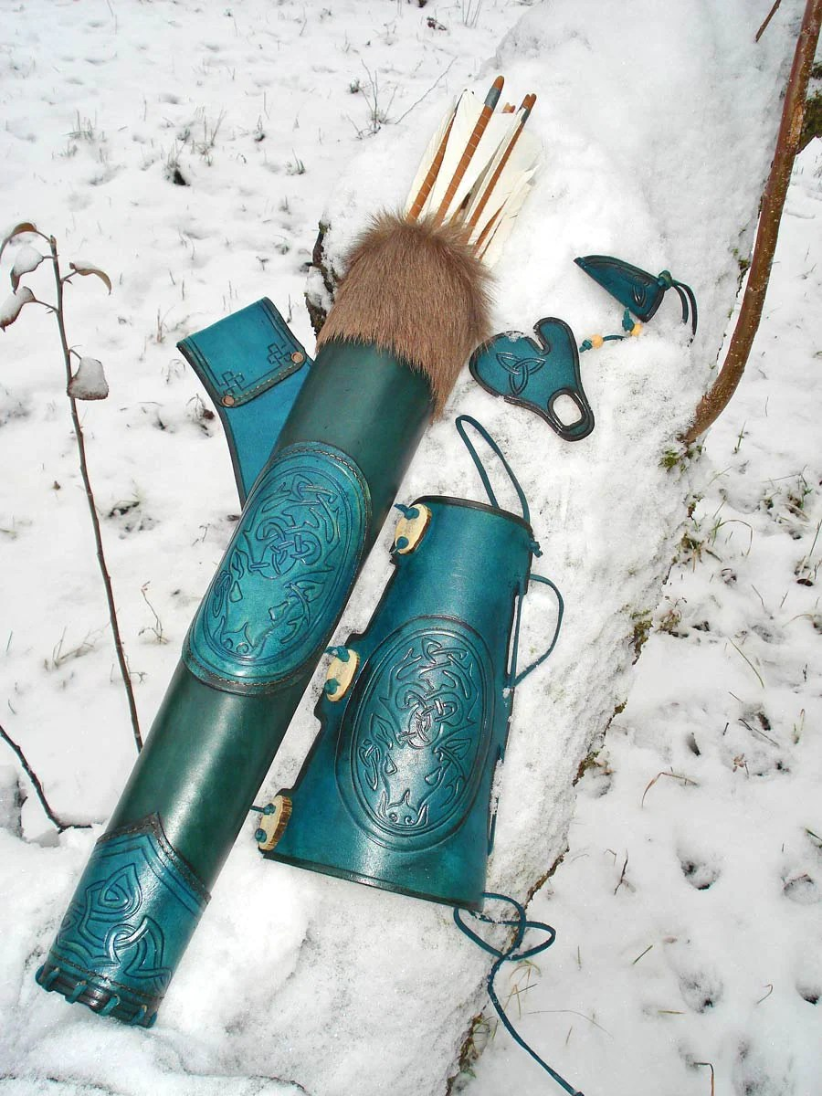 Custom Leather Hip Quiver