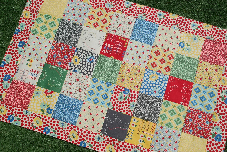 School Days Quilt Pattern