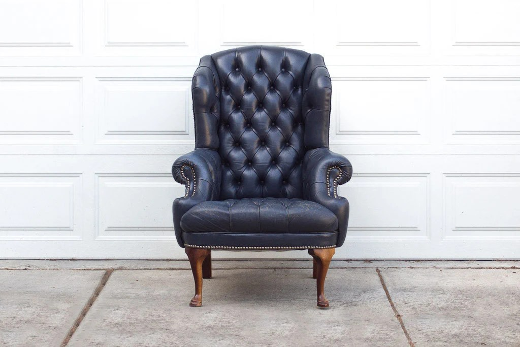 Accent Chairs Navy Blue