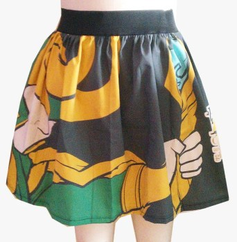 Loki Inspired Full Skirt