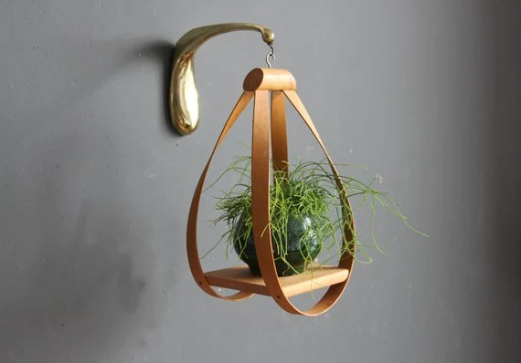 Modern Bentwood Hanging Plant Stand by GallivantingGirls ... on Hanging Plant Stand  id=72923