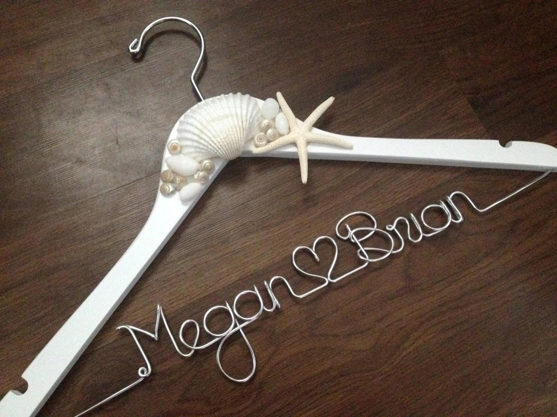 Beach Wedding Hanger Bride Hanger Destination Wedding Gift