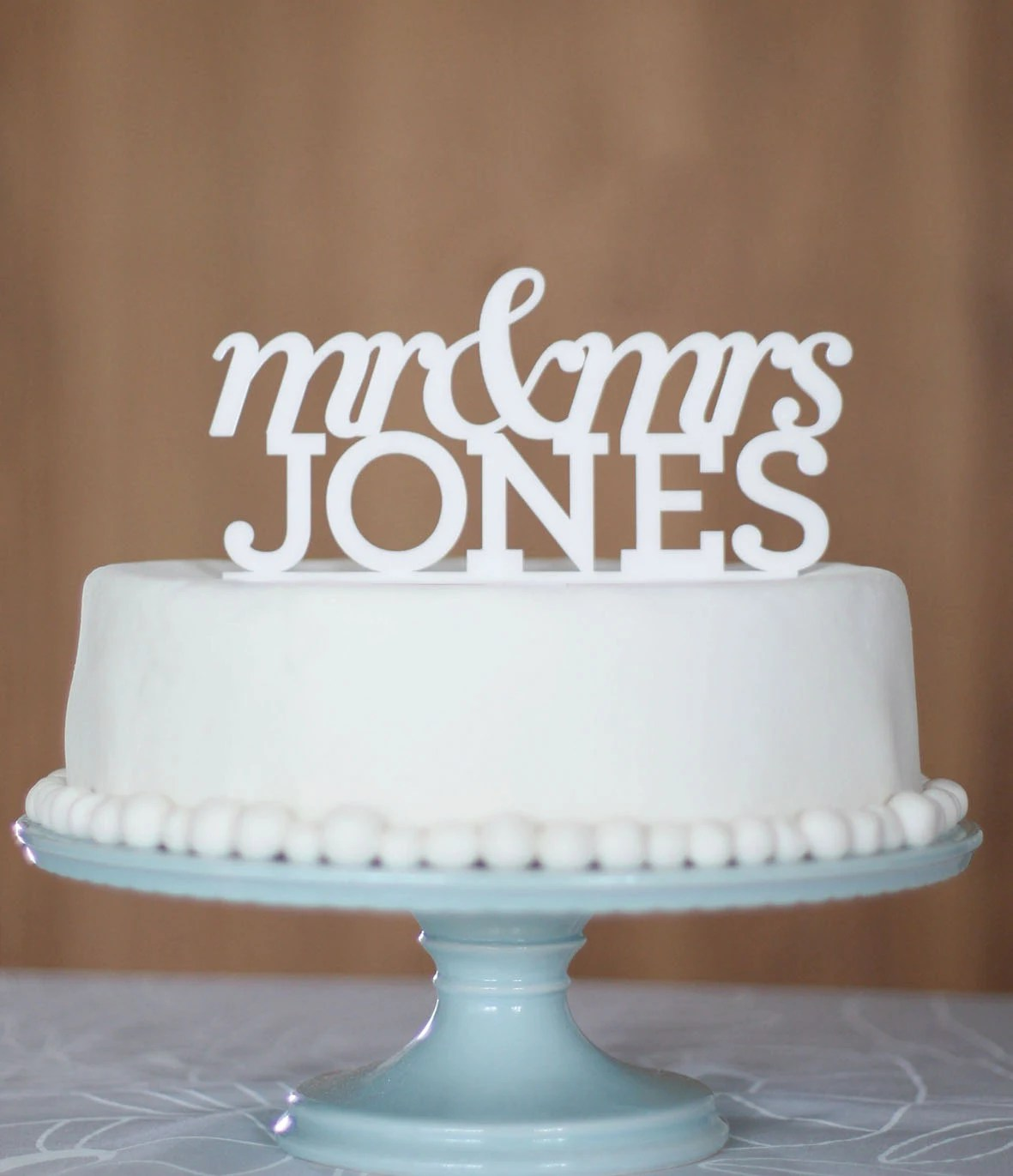 Custom wedding cake toppers - CommunicakeIt