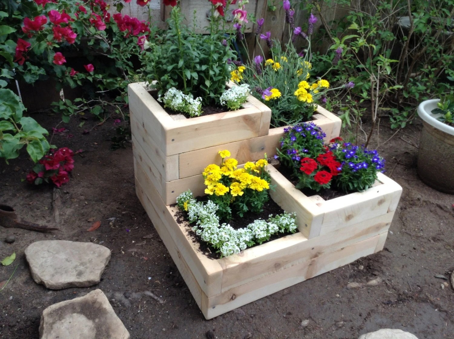 Above Ground Vegetable Garden Containers