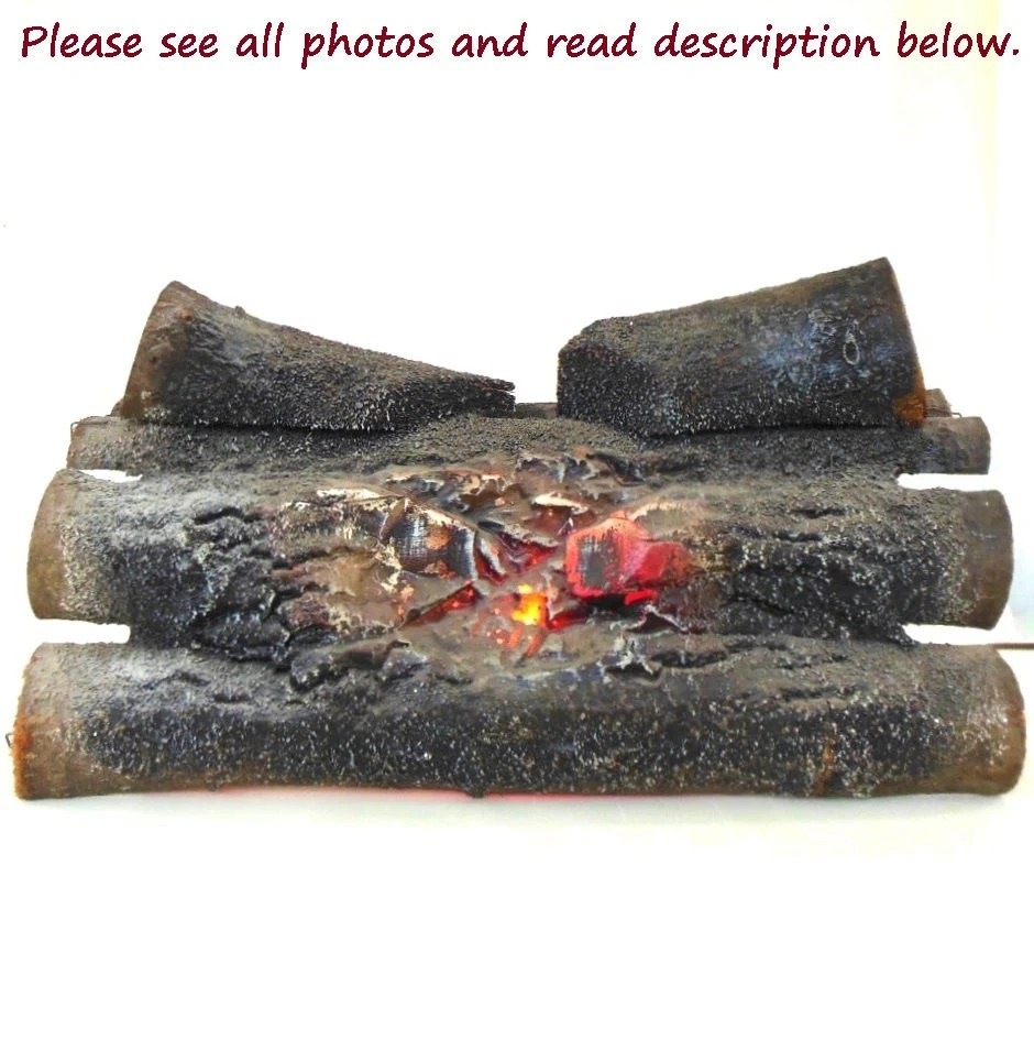 Fake Fireplace Log